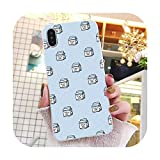 Kawaii Japanese Strawberry Milk Box Phone case for iPhone 11 Pro 11Pro Max 5 5Sx 6 7 7plus 8 8Plus X XS MAX XR-in Half,for iphone7 iphone8,A2 -  Oversized-khaki