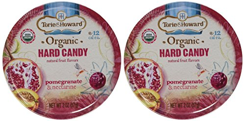 Torie & Howard Pomgrante & Nectarine Candy, 2 oz (Pack of 2)