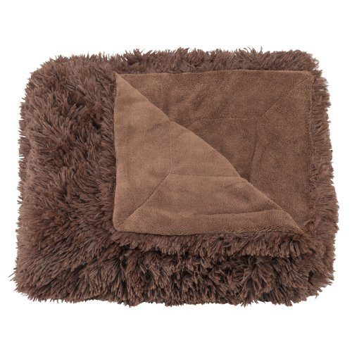 Casual Living Bedding (Casual Living Super Plush Shaggy Oversized Throw, 60 by 70-Inch,)