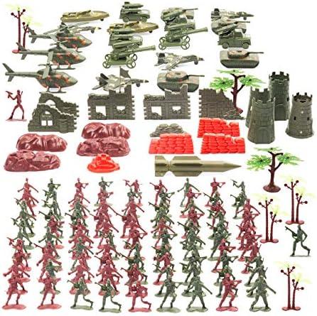 THE TWIDDLERS Set Juguetes Soldados 519 Piezas   Juguete Plastico de Figuras Militares Munecos Soldaditos   Accesorios de Guerreros Militar Playmobil Niños: Amazon.es: Oficina y papelería