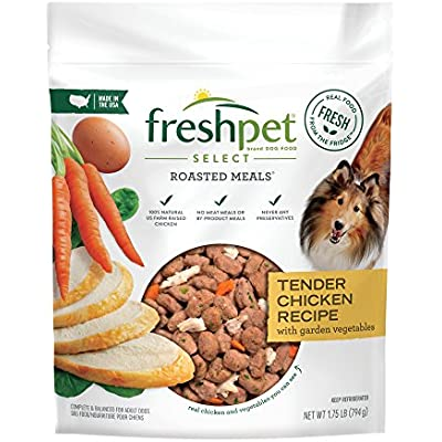 Freshpet Healthy & Natural Dog Food, Fresh Chicken Recipe, 1.75lb