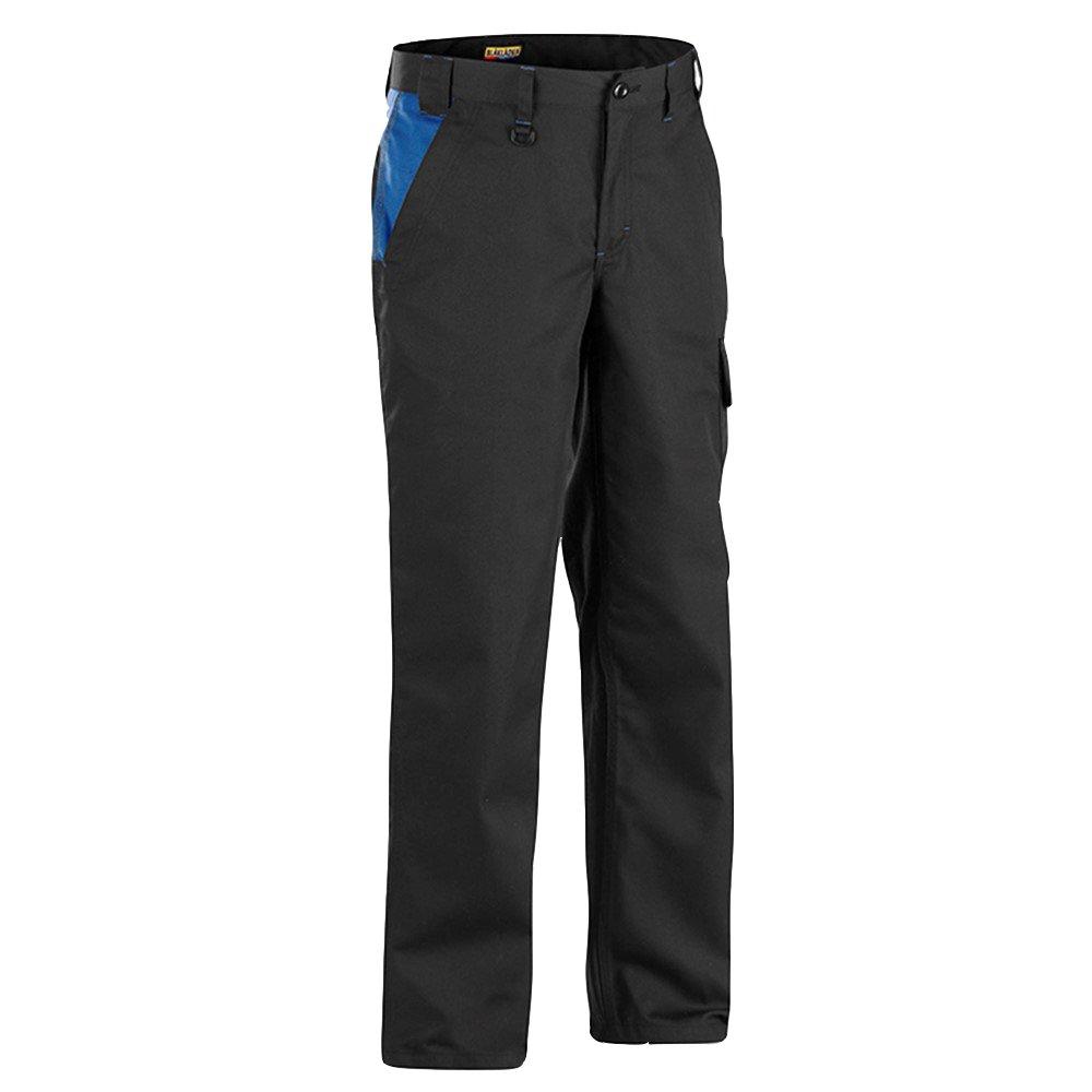Blaklader 140418009985C154 Industry Trousers, Size 38/34, Black/Cornflower Blue by Blaklader (Image #1)