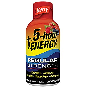 5-hour ENERGY Shot, Berry, 24 Count 1.93 oz Bottles