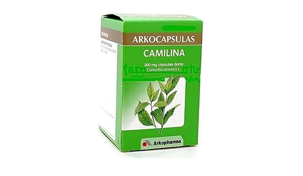 Amazon.com: Arkocapsulas camilina 200 cápsulas arkocaps ...