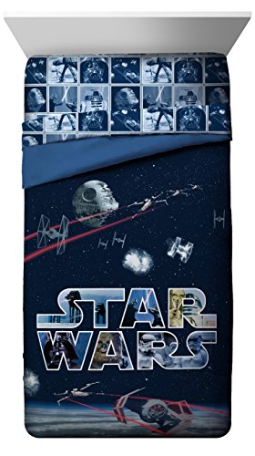 Star Wars Classic Space Battle Twin/Full Reversible Comforter ()