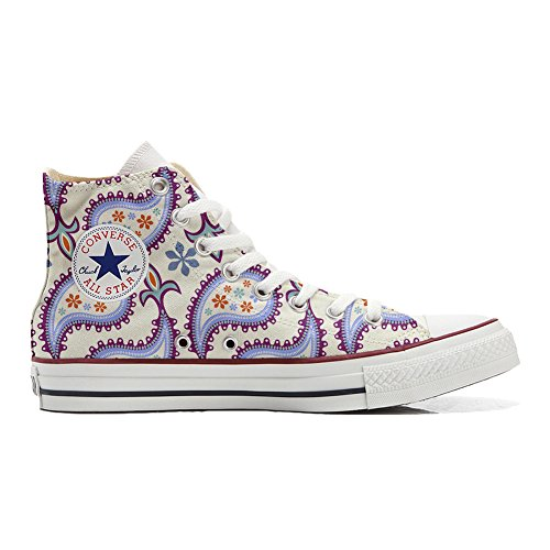 Converse All Star zapatos personalizados (Producto Handmade) Decorative Paisley