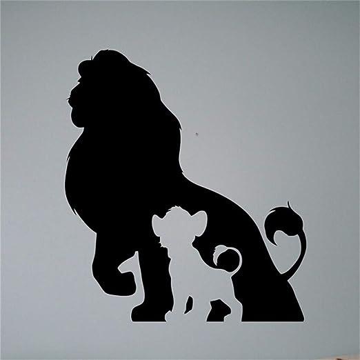 etiqueta de la pared decoración El Rey León Tatuajes de pared ...