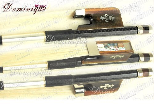 - D Z Strad #506 Advanced Model Texture Carbon Viola Bow Silver OX Horn
