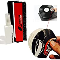CARBON FIBER RECORD BRUSH Bundled with 1 Anti-Static RECORD BUTLER Record Handler & Cleaner