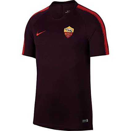 f7e3459c5027a Amazon.com : Nike 2018-2019 AS Roma Training Football Soccer T-Shirt ...