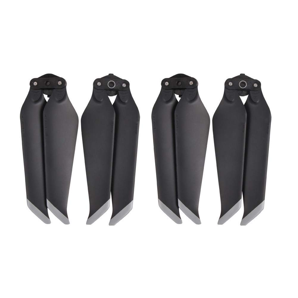 HeiyRC 4PCS Low-Noise Propeller for DJI Mavic 2 Pro//Mavic 2 Zoom Drone Accessories,8743F Quick-Release Folding Blades Replacement Props,2 CW+2 CCW