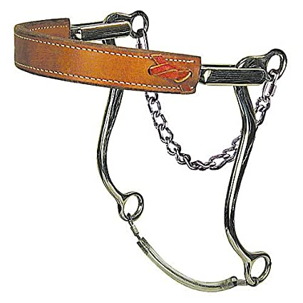 Reinsman 951 Mechanical Hackamore with Flat Leather Nose
