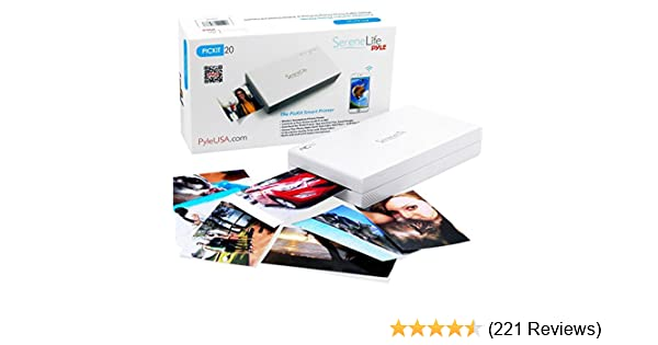 Amazon portable instant mobile photo printer wireless color amazon portable instant mobile photo printer wireless color picture printing from apple iphone ipad or android smartphone camera mini compact reheart Choice Image