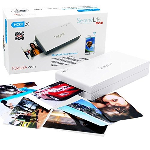 Portable Instant Mobile Photo Printer - Apple iPhone, iPad or Android Smartphone