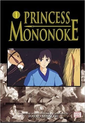 Amazon Com Princess Mononoke Film Comic Vol 1 1 Princess Mononoke Film Comics 9781421505978 Miyazaki Hayao Books