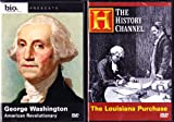 The History Channel : President Thomas Jefferson and the Louisiana Purchase , Biography George Washington American Revolutionary : Founding Fathers 2 Pack