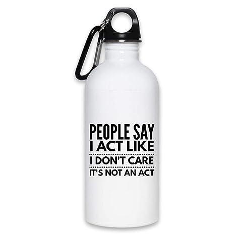 Amazon.com: Las personas dicen que yo actúa como no me ...
