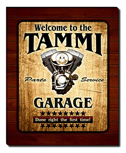 (ZuWEE Tammi Family Garage Gallery Wrapped Canvas Print)