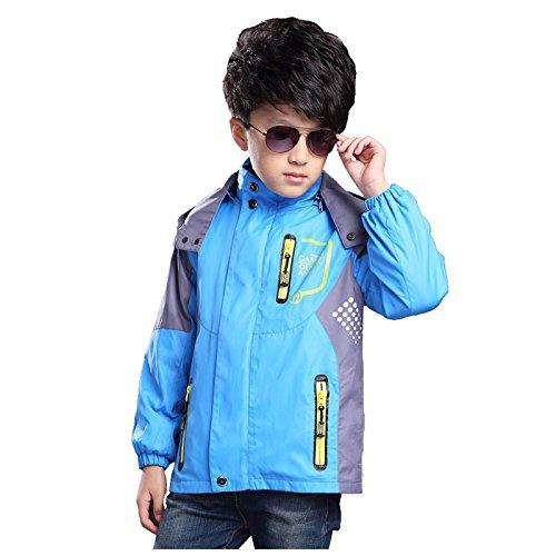 dc50d8ac676e Amazon.com  SODIAL(R) Boys Coat Children-Outerwear-Warm-Coat-Sporty ...