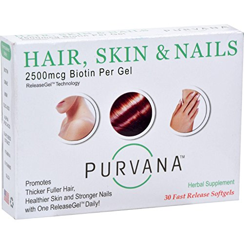 Heaven Sent Purvana Hair Skin Nails 30 Sgel