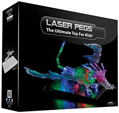 Laser Pegs® Ultimate (Dragon) 57-in-1 Building Set - Item #1070