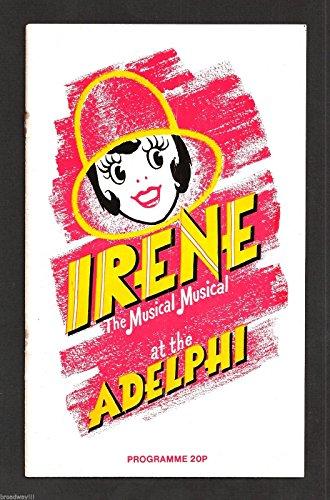 "Jon Pertwee ""IRENE"" Patricia Michael / Eric Flynn 1977 London Revival Playbill"