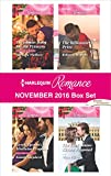 img - for Harlequin Romance November 2016 Box Set: Christmas Baby for the Princess\Greek Tycoon's Mistletoe Proposal\The Billionaire's Prize\The Earl's Snow-Kissed Proposal book / textbook / text book