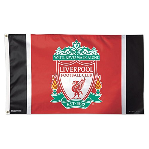 Deluxe Flagpole - WinCraft Liverpool FC Flag Deluxe 3 x 5 foot