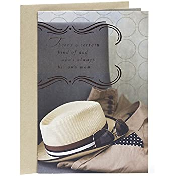 Hallmark Mahogany Birthday Greeting Card For Father Hat And Sunglasses