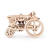 UGEARS Tractor Mechanical 3D Wood Model Assemble Without Glue