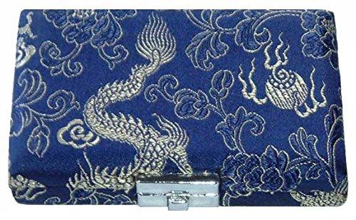 6-Reed Oboe Reed Case Silk (Blue/Silver)