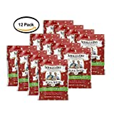 PACK OF 12 - Newmans Own Organics Snack Sticks - for Dogs - Chicken & Vegetable Recipe