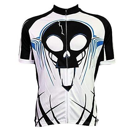 Best Quality - Cycling Jerseys - Custom Cool Design Sublimated Scared  Skeleton hot Sport Bike Jersey da272fed4