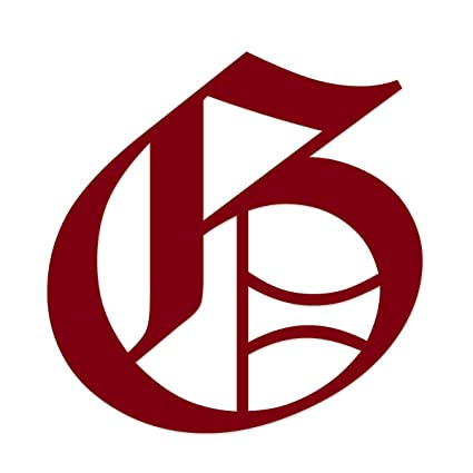 Applicable Pun Old English Letter G Vinyl Decal Outdoor Use On Cars Atv Boats Windows More Burgundy 3 Inches Tall