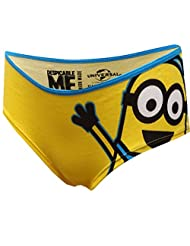 Despicable Me Minions Yellow Panty for women