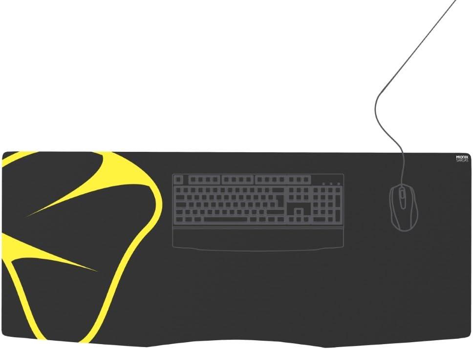 Mionix Sargas Xxl Gaming Mauspad Deskpad 1200x500x25mm Computer Zubehör