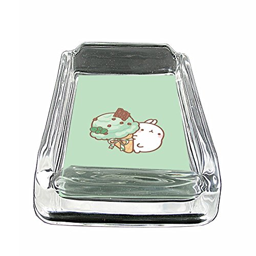 (Mint Ice Cream Bunny Em1 Glass Ashtray Smoking/Coin Holder 4