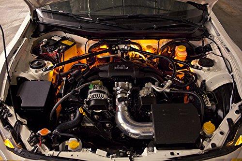 2009-2013 Infiniti G37 Sedan Single-Color Standard Engine Bay LED Kit, Amber