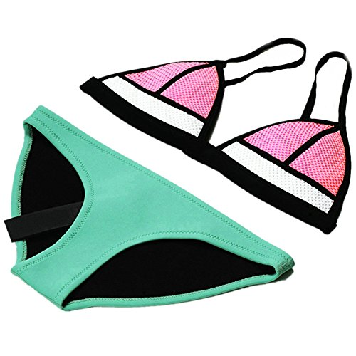 CIKINI Bright Neoprene Swimsuit Triangle