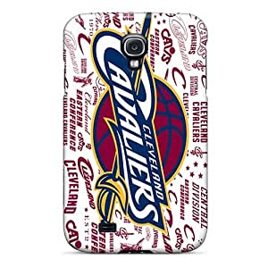 Hardcase88 Samsung Galaxy S4 Shock Absorbent Hard Cell-phone Cases Customized High-definition Cleveland Cavaliers Pattern [hUb1745TAlC]