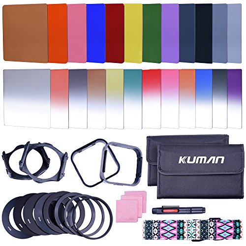 Kuman Complete Filters Compatible Cameras 44