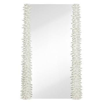 Amazon.com: Majestic Mirror Contemporary Spiky Textured Frame ...