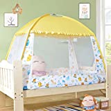 NSHUN Pop-Up Mosquito Net Tent for Beds Anti Mosquito Bites Folding Design with Net Bottom for Babys Adults Trip (Size : 1.5m)
