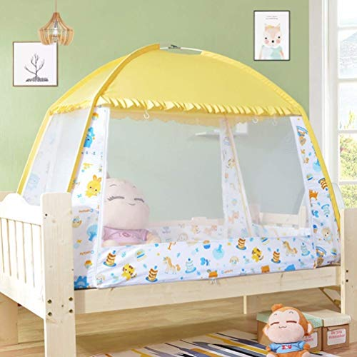 NSHUN Pop-Up Mosquito Net Tent for Beds Anti Mosquito Bites Folding Design with Net Bottom for Babys Adults Trip (Size : 1.5m) by NSHUN (Image #6)