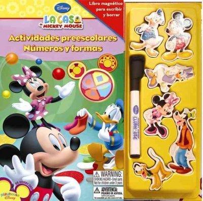 La casa de Mickey Mouse/ Preschool numbers and shapes (Magnix: Actividades Preescolares) (Spanish Edition)
