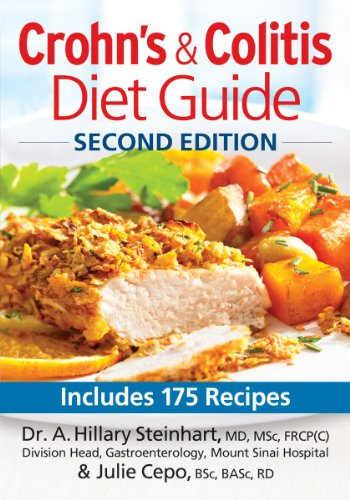 Crohns And Colitis Diet Guide  Includes 175 Recipes