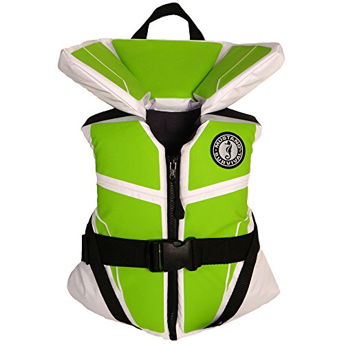 (Mustang Survival Lil' Legends 100 Flotation Vest, White/Apple,)