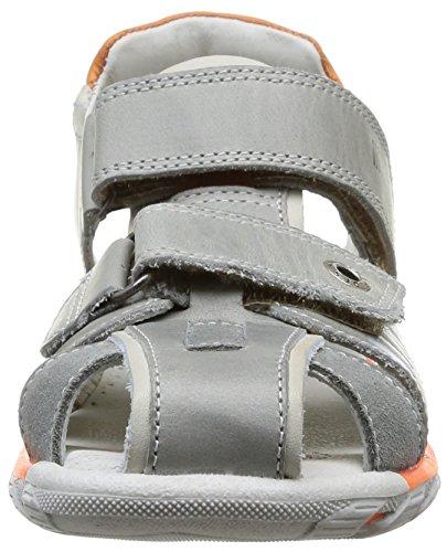 grigio 407 pelle Babybotte Sandali 3 grigio per bambini in sportivi Koby 66afvnzB