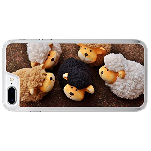 Handmade A Stuffed Animal Sheep In Group Apple iPhone 7 Plus (5.5 inch) Phone Case