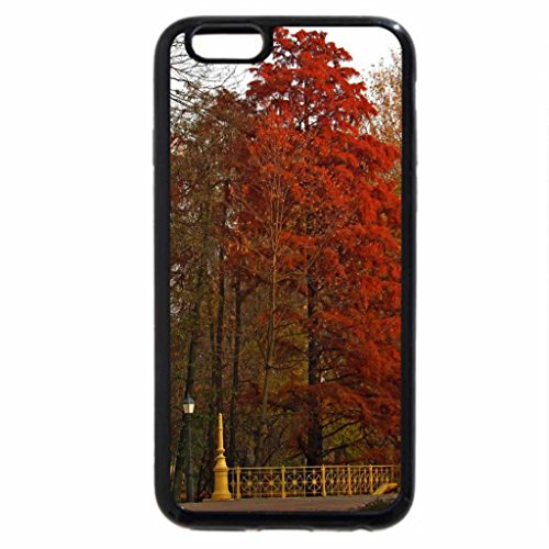 iPhone 6S / iPhone 6 Case (Black) Majestic Red Tree